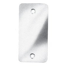 Baldwin 5643 Scuff Plate for 5644 Rim Lock, Non-Lacquered - Baldwin Rim Locks