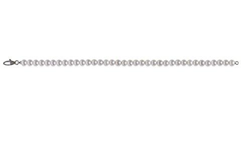 mayumi-bracciale perles pleine perlagione 5x 5œ mm or blanc 750°/° °