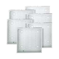 Leviton 47605-14G SMC 14-Inch Series, Structured Media Enclosure only, 6-Pack, White