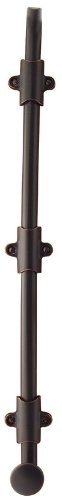 Emtek 8514 24'' Surface Bolt with 3 Strikes and Screws, Oil Rubbed Bronze