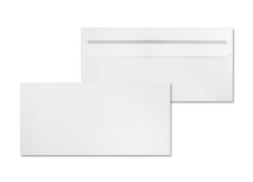 Deutsche Post - 100 Umschläge - DIN lang weiß selbstklebend ohne Fenster