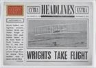 The Wright Brothers (Baseball Card) 2012 Panini Golden Age - Headlines #1
