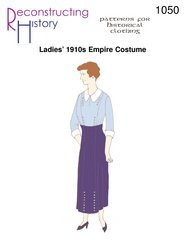 [Ladies' 1910s Empire Costume Pattern] (1910 Costumes)