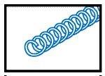 "Spiral Insert (Blue 3/8"" OD) for Gendex GXS033"
