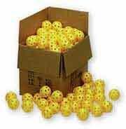 Markwort 9-Inch Plastic Balls-Box of 100, Yellow by Markwort