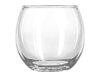 Crisa by Libby Glass 1780860 2 Glass Roly Poly Votive (Set of 24), 2 1/2'', Clear