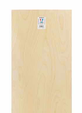 Midwest Products Plywood Sheet 1/8 '' ( 3 Mm ) T X 12 '' W X 24 '' L Plywood by Midwest Products Co.