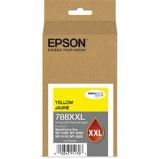 Epson 788XXL DURABrite Ultra Extra High Capacity Yellow Ink Cartridge, 4000 Yield (T788XXL420)