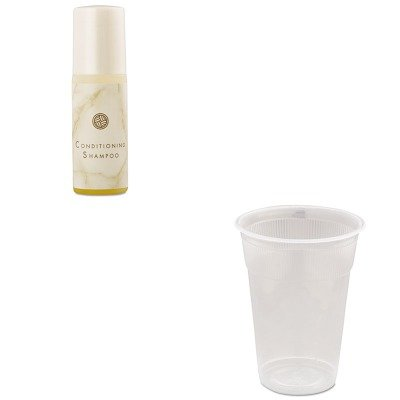 KITDPR1319071WNAAP0900W - Value Kit - WNA AP0900W Comet 9 Wrapped White Hotel Plastic Cups, 9 Ounces (WNAAP0900W) and Vvf Amenities Breck Conditioning Shampoo (DPR1319071)