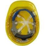 Dottie SFTYR Front Brim Hard Hat, 6-Pt Suspension - Yellow