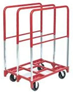 product image for Raymond Products Panel Truck, 2400 lb. Load Capacity, (2) Swivel, (2) Rigid Caster Wheel Type - 3829