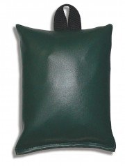 Patient Positioining Sandbag, 5 lb. - 7'' x 9'', Dark Green by Colortrieve