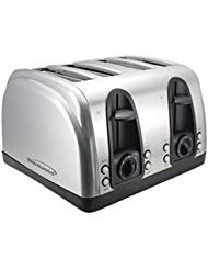 Brentwood Stainless Steel Brushed Finish 4 Slice Elegant Toaster (Ts-445S) /Item No#8Y-Ifw81854290730
