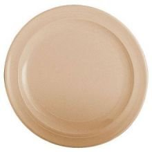 Thunder Group Western Melamine Nustone Round Dessert Plate, 7 1/4 inch - 12 per case.