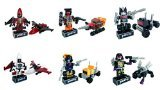 Kreo Transformers Micro Changers Minifigures Mystery Packs- Bundle of 6 Mystery Packs from Collection 3