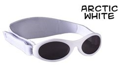 Baby BanZ Adventure BanZ Ages 0-2 Arctic White Protective Sunglasses Eyewear