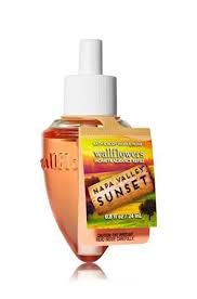 Bath & Body Works Wallflowers Fragrance Refill Bulb Napa Valley Sunset