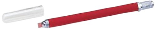 Ideal Industries DualScribe Ruby Blade Fiber Optic Scribe, Red Handle