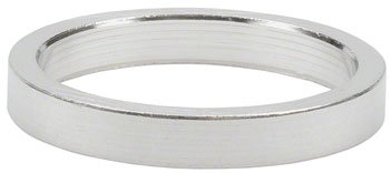 Wheels Manufacturing 1-1/8-Inch Spacer (Silver/ 5mm, Bag of 10)