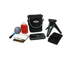 Lenmar DCK1000 Digital Camera Starter Kit Includes Tripod, Case, Card Reader, Cleaning Kit, Media Case