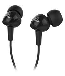 (Certified REFURBISHED) JBL C150SI in-Ear Earphone (Black)