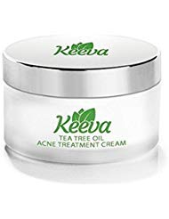 Acne Treatment Cream With Secret TEA TREE OIL Formula - Perfect For Acne Scar Removal, Fighting Breakouts, Spots, Cystic Acne - See Results in Days Without Dry Skin (0.5oz)