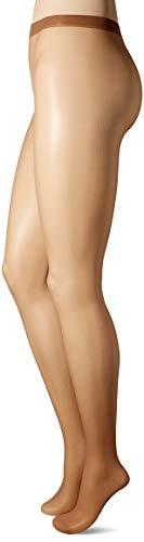 No Nonsense Women's Waist Pantyhose with Sheer Toe, Tan, B