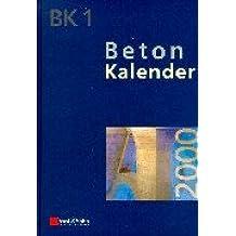 Beton-Kalender 2000 (Beton-Kalender (VCH) *) (German Edition)