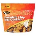 Pamelas Products Chocolate Chip Simplebites Mini cookies, 7 Ounce -- 6 per case.