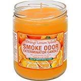 Smoke Odor Exterminator Candle Orange Lemon Splash 13 oz. Pack of 4