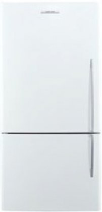 (Fisher Paykel E522BLE4 17.6 cu. ft. Capacity Left Hinge Counter Depth Bottom Freezer Refrigerator in White)