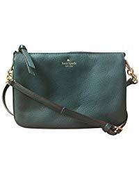 Kate Spade New York Madelyne Larchmont Avenue Crossbody Shoulder Bag, Emerald Forest
