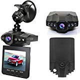 "Dash Cam, Dyzeryk Car Dashboard Camera 2.5"" Screen,270 Degrees Whirl Screen,6 Infrared Fill Light with Loop Recording, Night Vision"