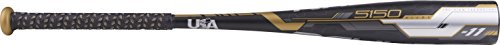 Rawlings 5150 Alloy 2-5/8' Big Barrel USA Baseball Bat, 27'/16 oz
