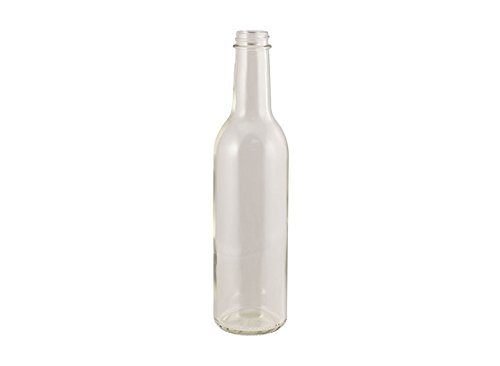 375 Ml Wine (Wine Bottles - 375 mL Flint - Screw Top - Case of 12)
