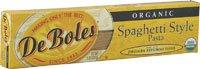 DeBoles Organic Jerusalem Artichoke Spaghetti Style Pasta -- 8 - Organic Deboles Pasta