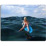 luxlady Naturkautschuk Gaming Mousepads Frau Floating On A Surfbrett Bild-ID...
