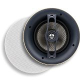 Micca R-8C 8-Inch Reference Series Rimless In-Ceiling Speaker, White