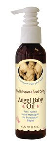 Earth Mama Angel Baby, Baby Oil Ange, 4 onces