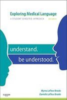 Exploring Medical Language A Student Directed Approach 8Ed (Pb 2012)
