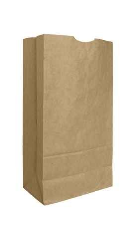 Bolsa, Carry-Out 12 lb Papel Kraft café reciclables ...