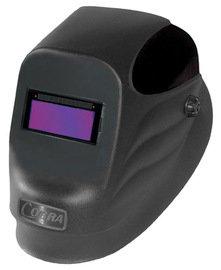 "Radnor 64005100 24S-Black Welding Helmet with 2"" X 4 1/4"" Fixed Shade 10 Auto Darkening Lens, English, 15.34 fl. oz, Plastic, 1 x 4.25 x 2"