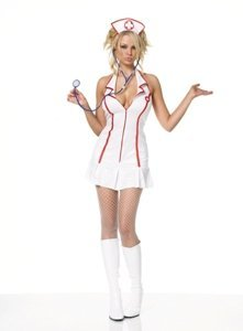 Head Nurse Costume - Plus Size 1X/2X - Dress Size 16-20 (Sexy Plus Halloween Costumes)