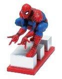 - Marvel Resin Figures - Spider-man on Letter Base