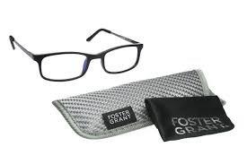 Foster Grant +1.25 Men's Plastic Rectangular E-Reader Reading Glasses(430) (Best Ereader For Macular Degeneration)