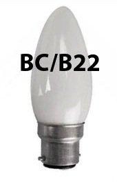 40 W BC Bayonet Cap White Pearl Soft Lamps Eveready 10x Opal Candle Light Bulb 40w B22