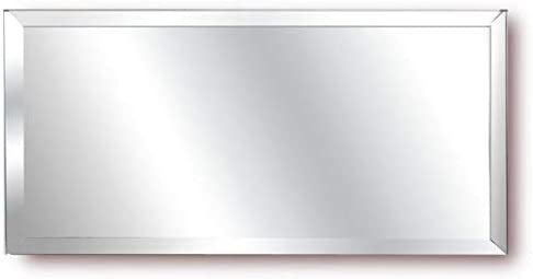 National Artcraft Bevelled 6 X 12 Inch Mirror Can Be Used for Mirror and Wall Designs, Centerpieces, Store Displays and Crafts (Pkg/12)