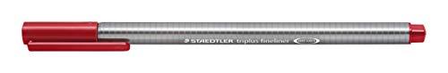 Staedtler Triplus Fineline 334–Superfine Tip 0.3mm Crimson