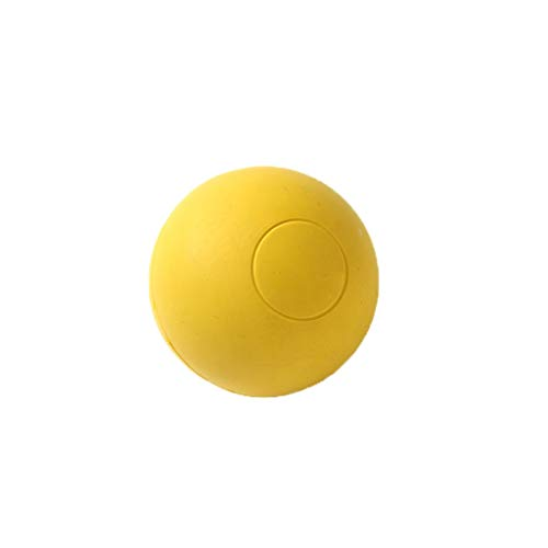 (Lxrzls Dog Chew Ball by. Premium Rubber Dog Toy Balls-Squeak Latex Dog Toy Football Chew.)