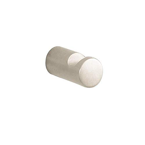 Hansgrohe 40511820 S and E Accessories Robe Hook, Brushed Nickel